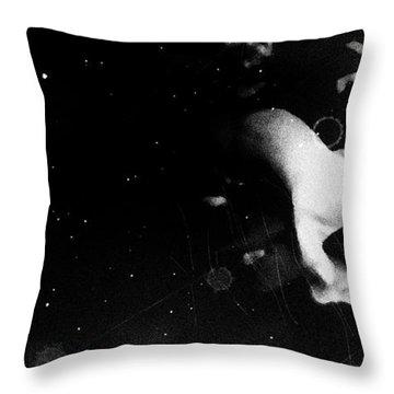 Trepidation Throw Pillow by Jessica Shelton