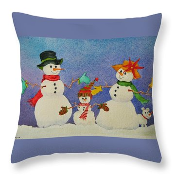 Tres Chic Throw Pillow by Mary Ellen Mueller Legault