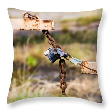 Trespassers W - Featured 3 Throw Pillow by Alexander Senin