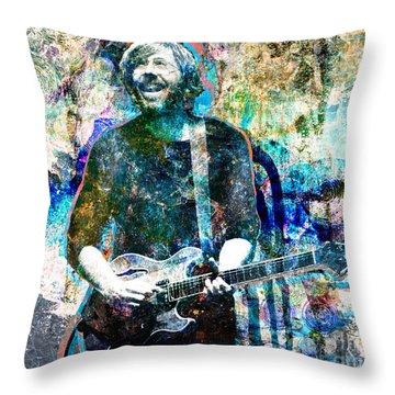 Trey Anastasio - Phish Original Painting Print Throw Pillow