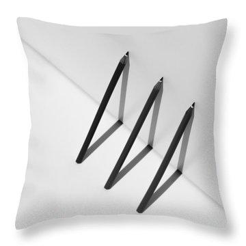 Pencil Throw Pillows