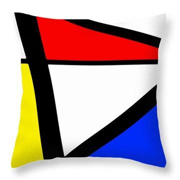 Triangularism I Throw Pillow