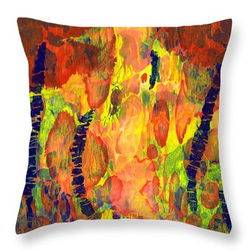 Tribal Essence Throw Pillow