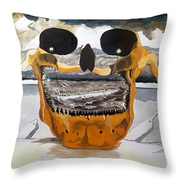 Tribulation Throw Pillow