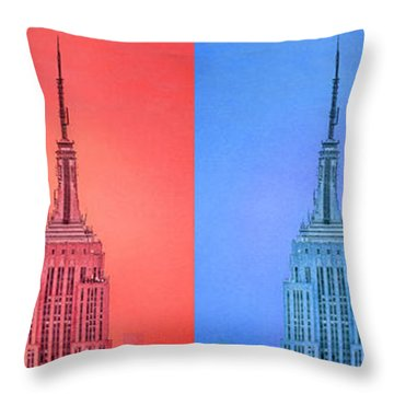 Tribute To Andy Warhol 2 Throw Pillow