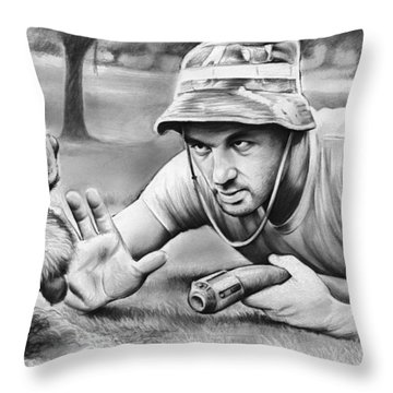 Tribute To Caddyshack Throw Pillow