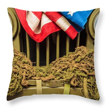 Tribute To Willy Throw Pillow by Martin Bergsma