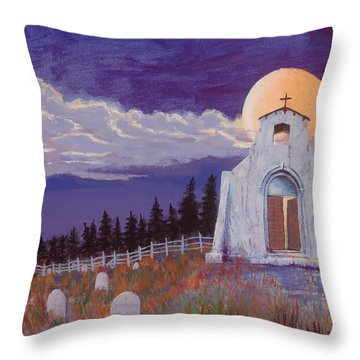 Trick Or Treat Throw Pillow by Jerry McElroy