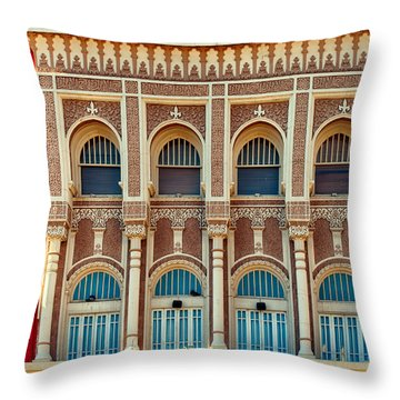 Throw Pillow featuring the photograph Tricky Falls  by Dan McManus