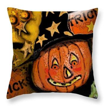 Pumpkinhead Throw Pillows
