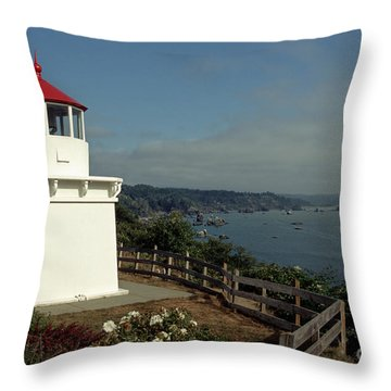 Throw Pillow featuring the photograph Trinidad Light by Sharon Elliott