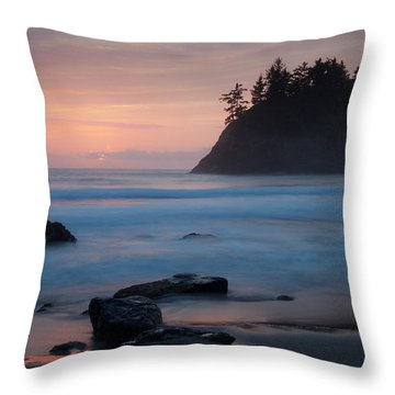 Trinidad Sunset - Another View Throw Pillow