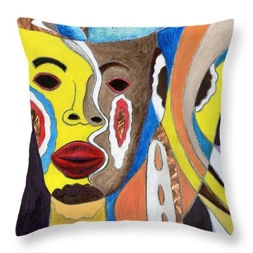 Trinifity Throw Pillow