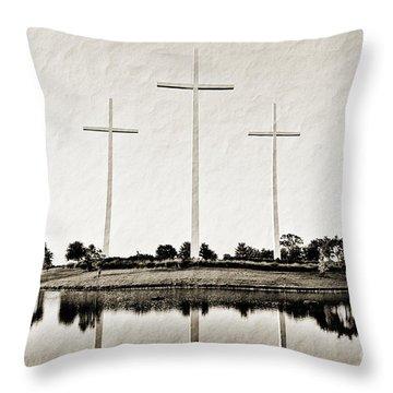 Trinity Throw Pillow by Scott Pellegrin