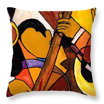 Trip Trio 2 Of 3 Throw Pillow by Everett Spruill