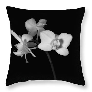 Throw Pillow featuring the photograph Triplets by Ron White