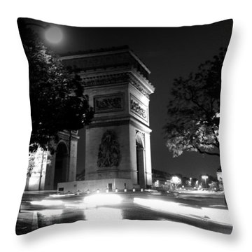 Throw Pillow featuring the photograph Triumph by Lisa Parrish