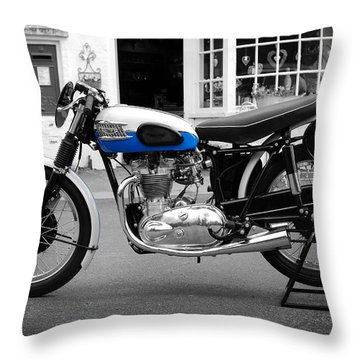 Triumph Tiger 100 Rs Throw Pillow