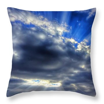 Triumphant Throw Pillow