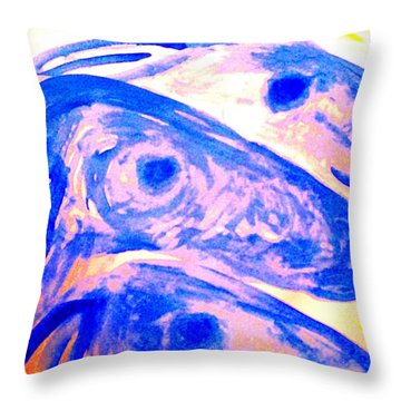 Trolls Herd Running But They Dont Know Where And They Dont Know Why   Throw Pillow