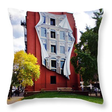 Trompe L'oeil Throw Pillow