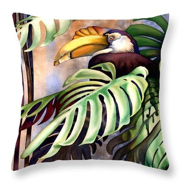 Tropic View Throw Pillow