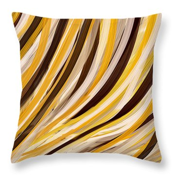 Tropical Ambiance Throw Pillow