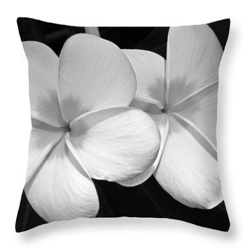 Throw Pillow featuring the photograph Tropical Beauty by Shane Kelly