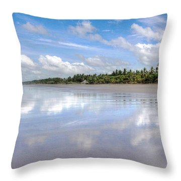 Throw Pillow featuring the photograph Tropical Bliss by Kandy Hurley