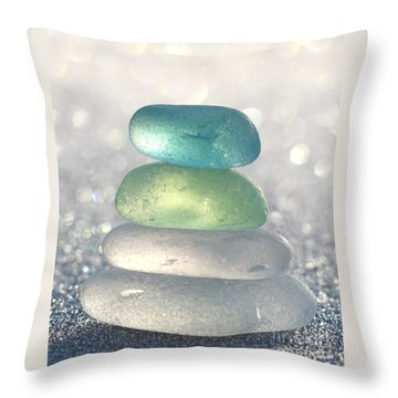 Tropical Breeze Throw Pillow