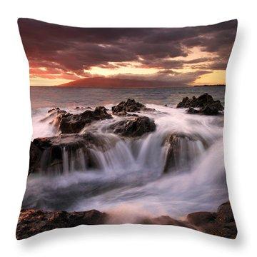 Tropical Cauldron Throw Pillow