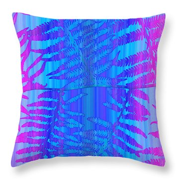 Tropical Delight Throw Pillow by Holly Kempe