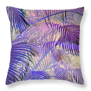 Tropical Embrace Throw Pillow