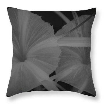 Throw Pillow featuring the photograph Tropical Garden by Miguel Winterpacht