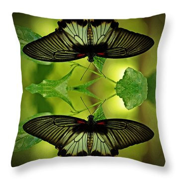 Tropical Paradise Throw Pillow by Inspired Nature Photography Fine Art Photography
