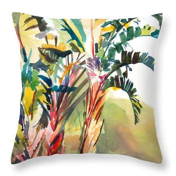 Tropical Punch Throw Pillow by Kris Parins