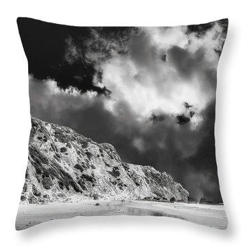 Tropical Storm - Baja Peninsula Throw Pillow