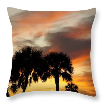 Throw Pillow featuring the photograph Tropical Vacation by Laurie Perry