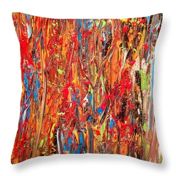 Tropics No. 1 Throw Pillow