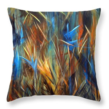 Tropics Throw Pillow