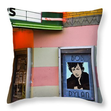 Troubadour Throw Pillow