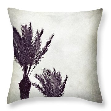 Trouble In Paradise Throw Pillow by Trish Mistric