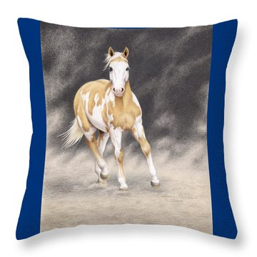 Tru King's Gold Throw Pillow