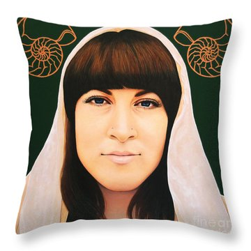 True Beauty - Alisha Gauvreau Throw Pillow