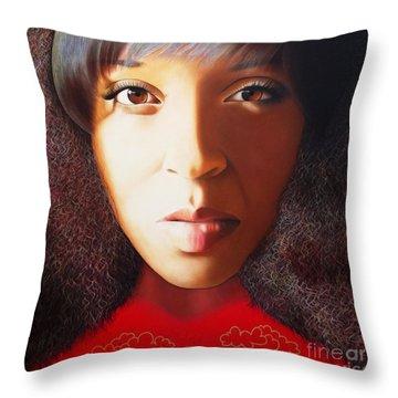 True Beauty - Delena Providence Throw Pillow
