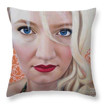 True Beauty - Katrina Schaman Throw Pillow