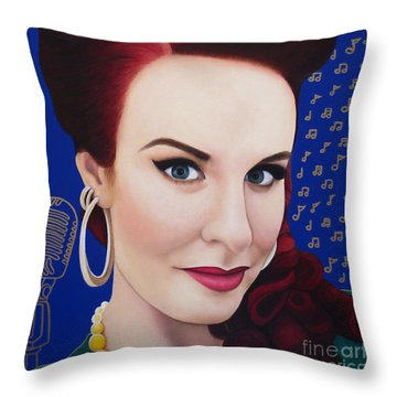 True Beauty - Tia Brazda Throw Pillow