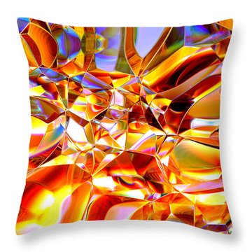 True Brilliance Throw Pillow by Andreas Thust