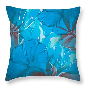 Throw Pillow featuring the digital art True  by Gayle Price Thomas