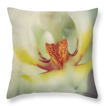 True Throw Pillow by Laurie Search